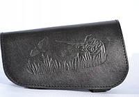 Патронташ на приклад на 6 патронов кожаный 20 калибр Коричневый