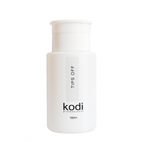 Tips Off Жидкость для снятия искусственных ногтей 160 мл. Kodi Professional