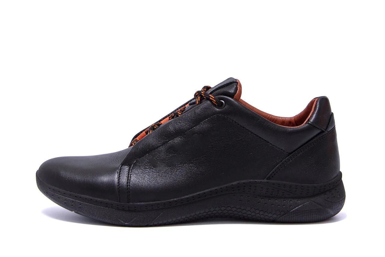 Чоловічі шкіряні кросівки E Collection р. 44 45