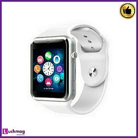 Умные Смарт часы A1 Turbo White (Smart Watch)