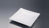 Тарелка Altporcelain квадратная без борта-F0007-8