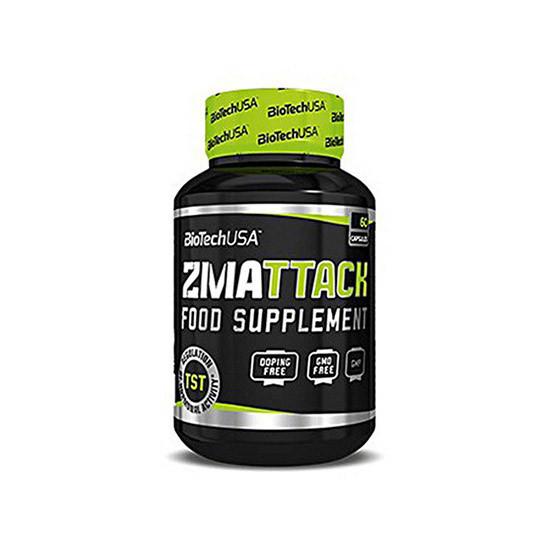 ZMA Цинк, Магній Аспартат BioTech ZMA TTACK 60 caps вітаміни