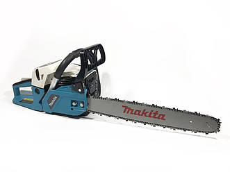 Бензопила Makita DCS 55 (Мотопила цепная макита) 3.6 кВт / 45 см шина 4,9 к.с.