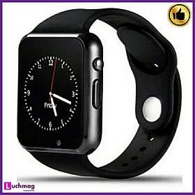 Умные Smart Watch A1 Turbo Black (умные смарт часы А1)