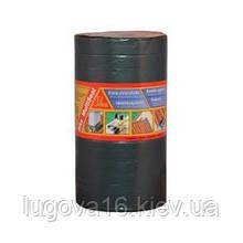 Стрічка бітумна самоклейка армуюча, для швів,стиків,тріщин / 10м х200мм та інші, сіра-Sika MultiSeal T