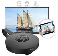 Mirascreen G2 anycast Wi-Fi по Hdmi CHROMECAST MIRACAST, для iPhone AirPlay Беспроводной приемник Dongle
