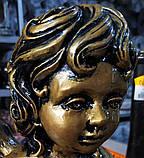 Скульптура Ангел из мрамора №89 высота 50 см, фото 8