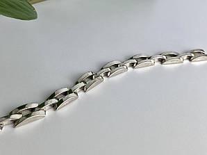 Мужской серебряный браслет 925 пробы