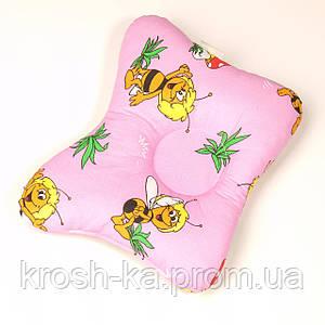Подушка для новорожденных Бабочка в ассортименте Эвисс Украина 5478