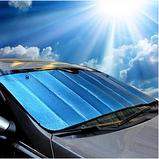 Шторка солнцезащитная автомобильная на лобовое стекло, фото 8