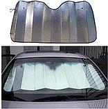Шторка солнцезащитная автомобильная на лобовое стекло, фото 7