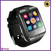 Умные Мужские часы, Smart Watch Q18 Apro Black
