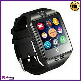 Розумні Чоловічі годинники, Smart Watch Q18 Apro Black