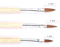 Кисть для росписи и дизайна ногтей №2,4,6