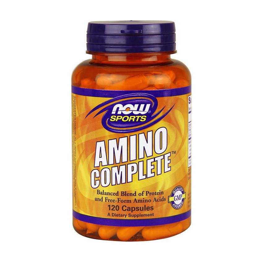 Аминокислотный комплекс NOW AMINO COMPLETE (120 caps)