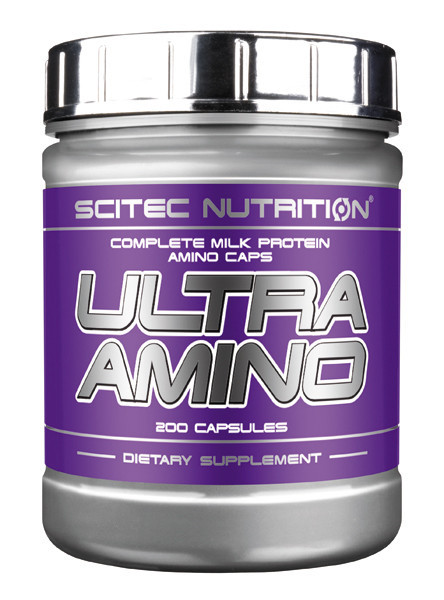 Амінокислотний комплекс Scitec Nutrition Ultra Amino (200 caps)