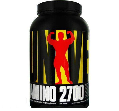 Аминокислотный комплекс Universal Nutrition Amino 2700 (700 tabs)