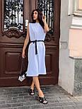 Летнее свободное платье - майка с разрезами по бокам 63031543, фото 2