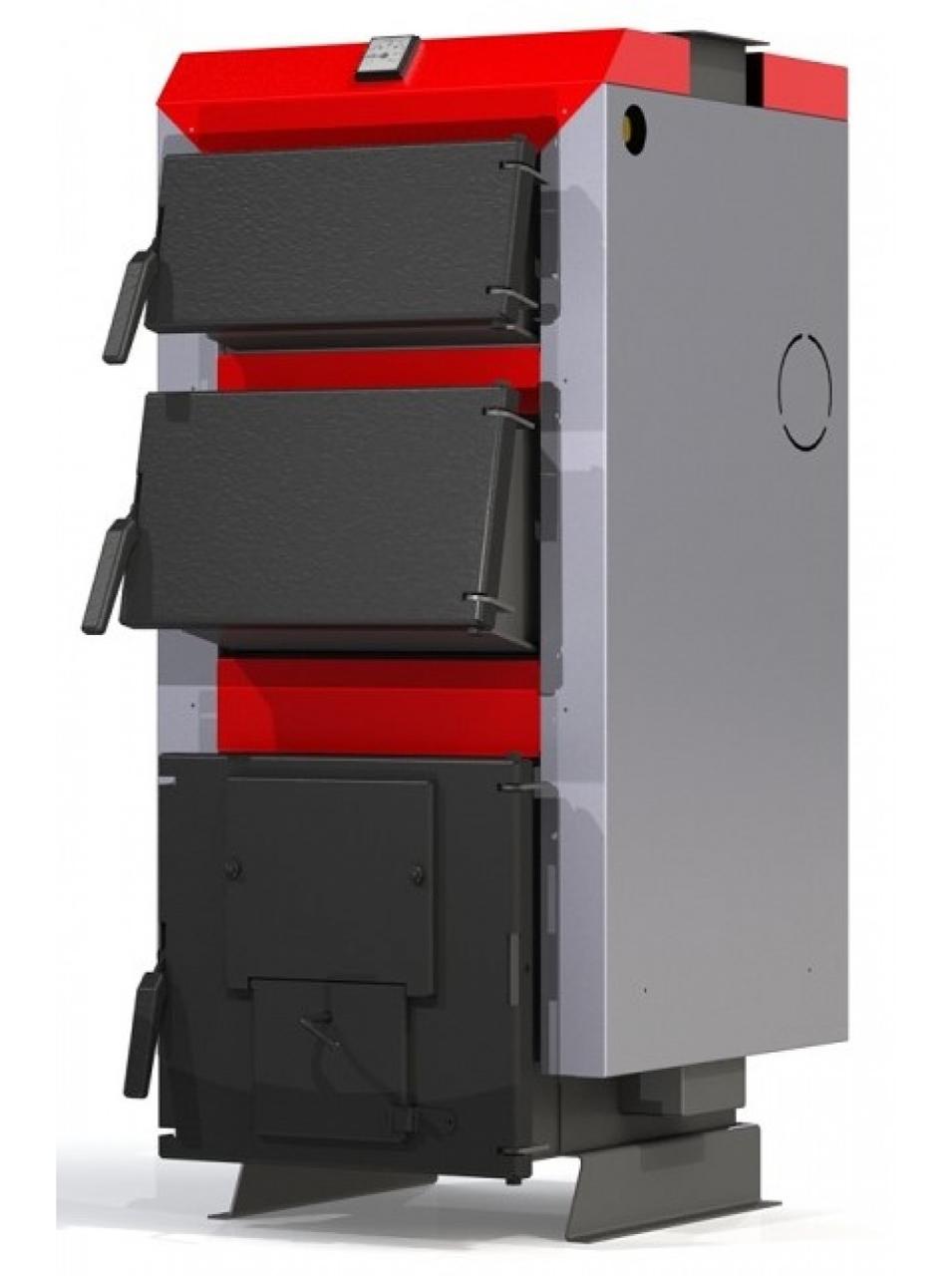 Твердотопливный котел ProTech ТТ-26 кВт ECO Line длительного горения на дровах, угле и брикетах