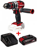 Набор дрель шуруповерт Einhell TE-CD 18 / 40-1 Li + зарядное устройство и аккумулятор 18V 2,5 Ah