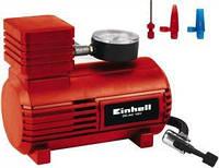Автомобільний компресор Einhell CC-AC 12 В, 0-18 бар, кабель 2.9 м, 3 адаптера