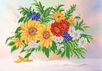 Схема для вышивания бисером Цветочная фантазия РКП-414