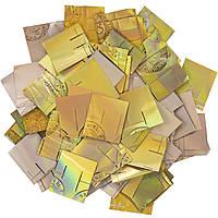 Конфетти ЛК288 Голограмма 2х2 1кг, фото 1
