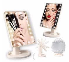 Зеркало для макияжа с подсветкой Superstar Makeup LED 1608