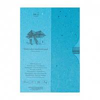 Склейка для акварели в папке AUTHENTIC, A4, 280г/м2, 35л, SMILTAINIS
