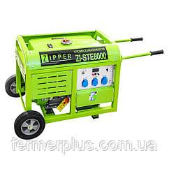 Бензиновый генератор Zipper ZI-STE8000