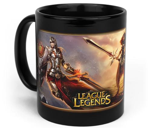 Кружка чашка Leona League of Legends