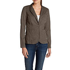 Блейзер Eddie Bauer Womens Legend Wash Stretch Blazer MUSHROOM 42 Коричневый 0086MR-L, КОД: 1212882
