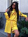 Женский летний костюм со свободными шортами и свитшотом с рисунком 5ks1067, фото 8