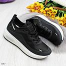 Женские кроссовки на белой подошве со шнуровкой OB7036, фото 2