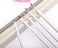 Набор кистей для росписи и дизайна ногтей 5 шт, фото 2