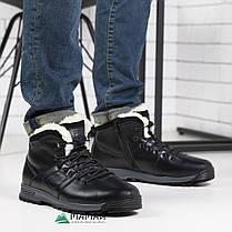 Ботинки мужские из натуральной кожи на замок 41р, фото 2