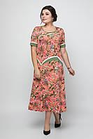 Сукня Омі 56-66 рожевий