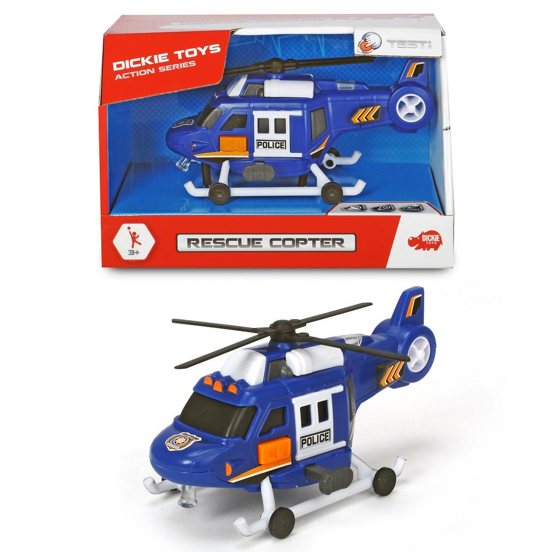 Вертолет Спасательный, 18 см Dickie Toys 3302016