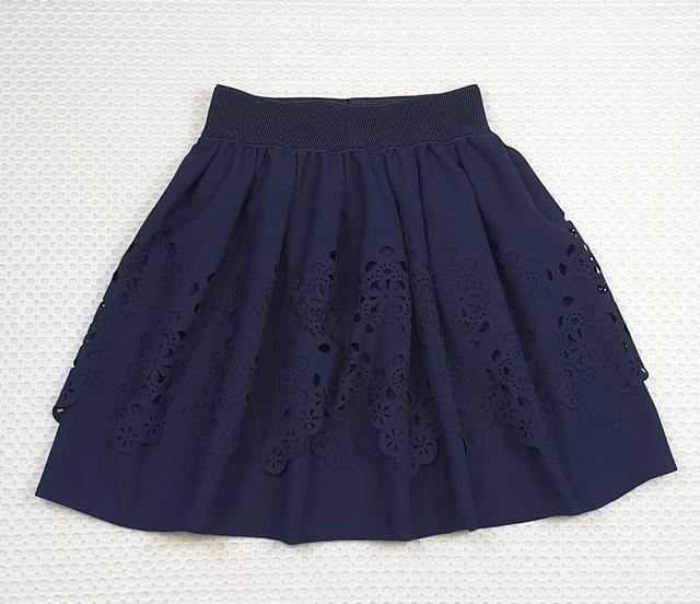 юбка с перфорацией