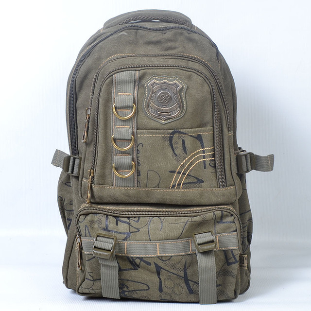 Брезентові рюкзаки