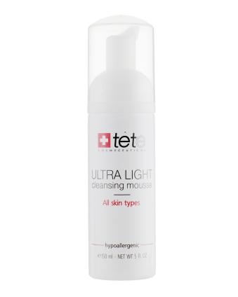 Мусс для умывания TETe Cosmeceutical Ultra Light Cleansing Mousse 150ml