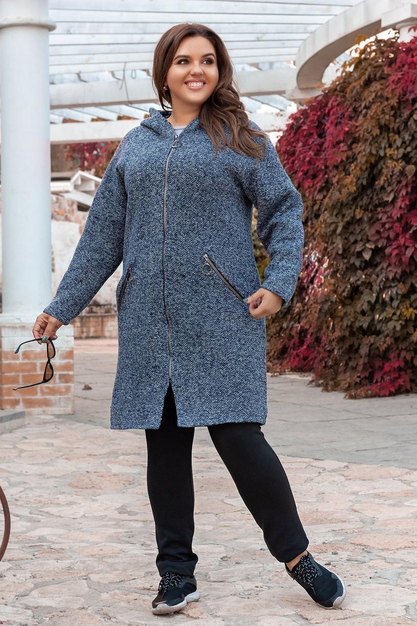 Пальто женское 1933яч батал