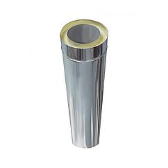 Труба дымоходная Версия Люкс L-0.3 м толщина 0.8 мм