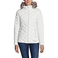 Куртка Eddie Bauer Womens Slate Mountain Down Jacket SNOW S Белый 4177SN-S, КОД: 1212855
