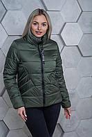 Куртка женская демисезонная MODA 00031/1 (42-54) XS-3XL Хаки
