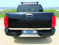 Хром накладка на кромку багажника (нерж) - Volkswagen Amarok