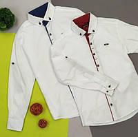Замечательная рубашка в школу, на выпускной и просто на праздник Рукав - трансформер.Турция 330грн