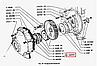 21-1005032 Сальник 55х80 вала коленчатого передний с обоймой ГАЗ 53, 24, 3302 (фторкаучук), фото 4