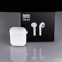 Наушники беспроводные блютуз Veron VR-04 Bluetooth TWS гарнитура, фото 1