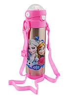 Термос детский с поилкой Disney 9030-500 500мл Frozen